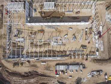 Construction site inspection and photography in Midland Odessa texas